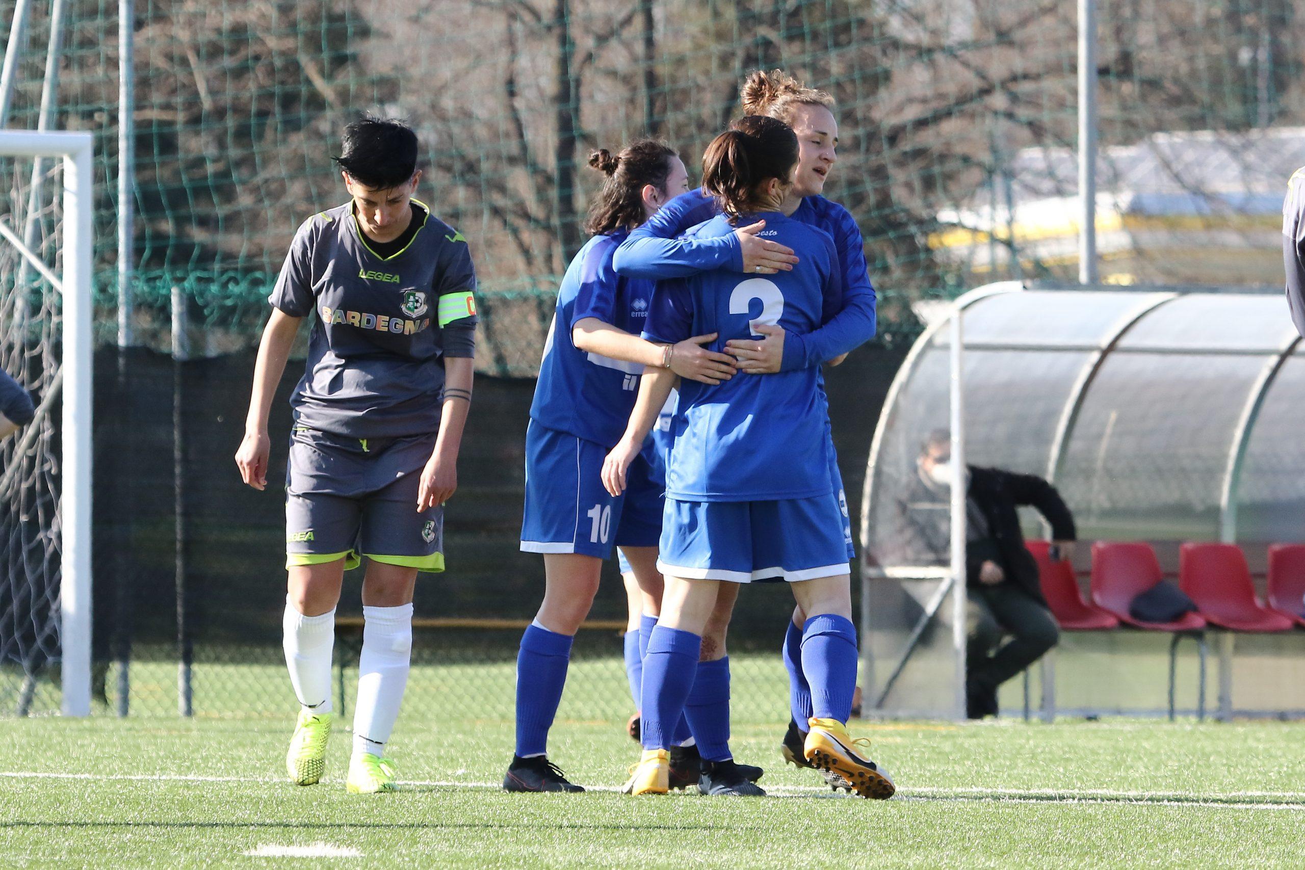 La Pro Sesto femminile vola anche in Serie C, Carlucci: 'Avanti così'